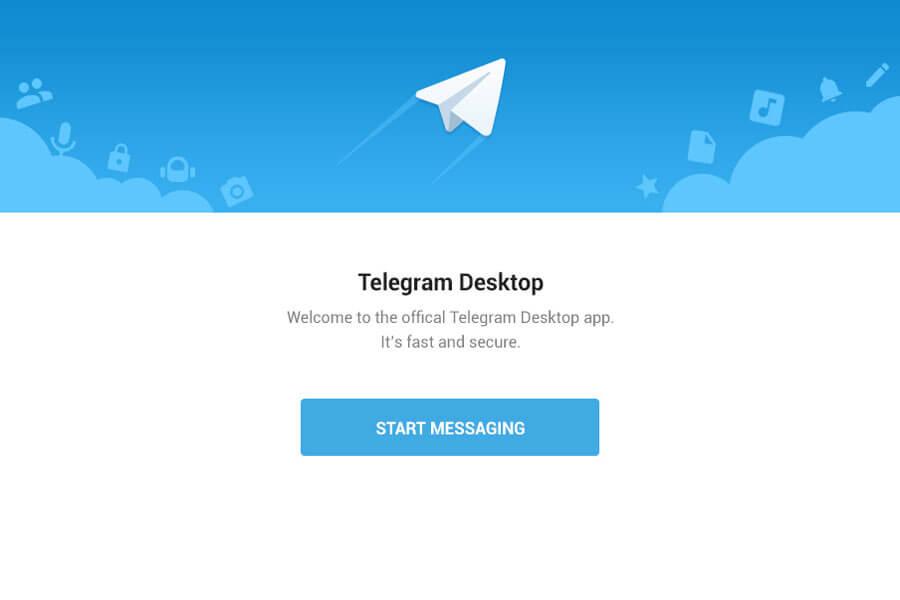 Phần mềm chat Telegram
