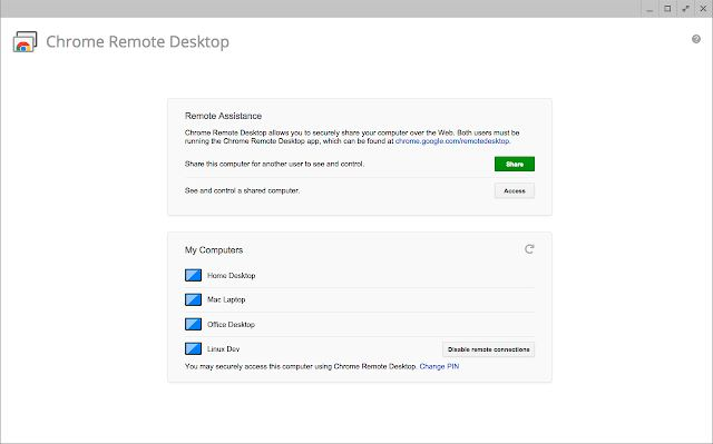 Chrome remote desktop là gì?