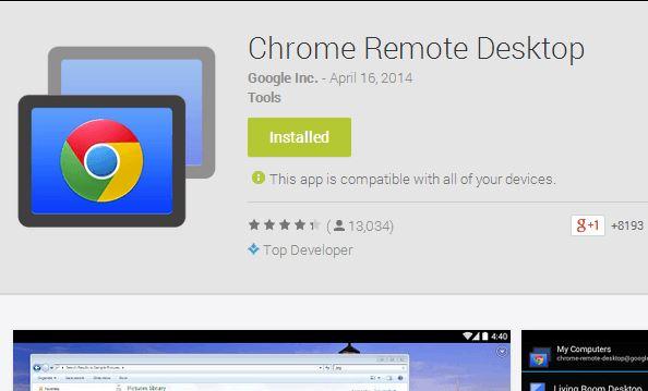 Hướng dẫn cài đặt và sử dụng Chrome Remote Desktop.