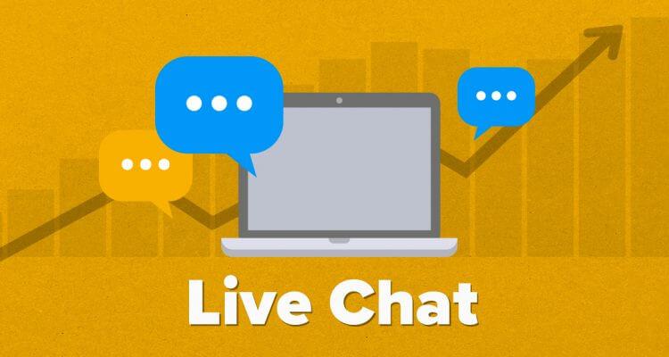 Các phần mềm live chat đã xóa nhòa khoảng cách giữa người và các nhà quản trị web