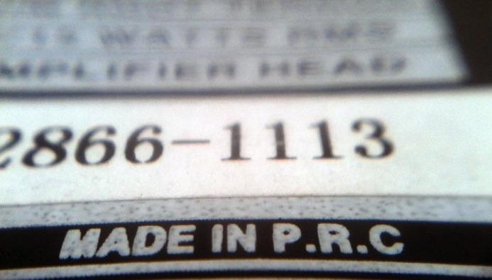 Made in China và Made in PRC khác gì nhau