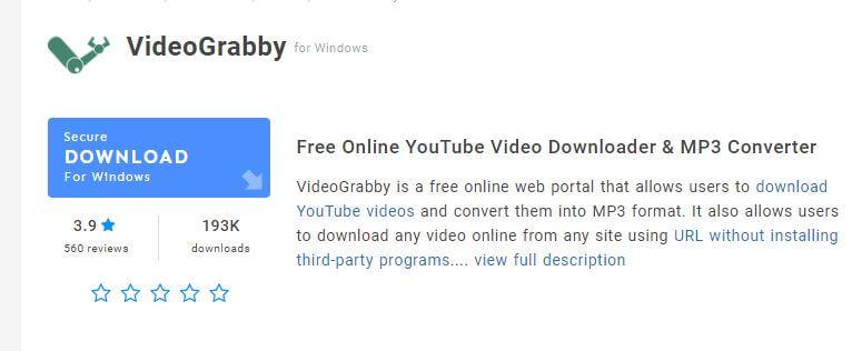 Video-Grabby