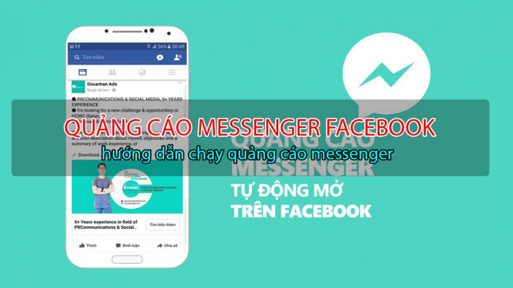 Hướng dẫn quảng cáo trên messenger