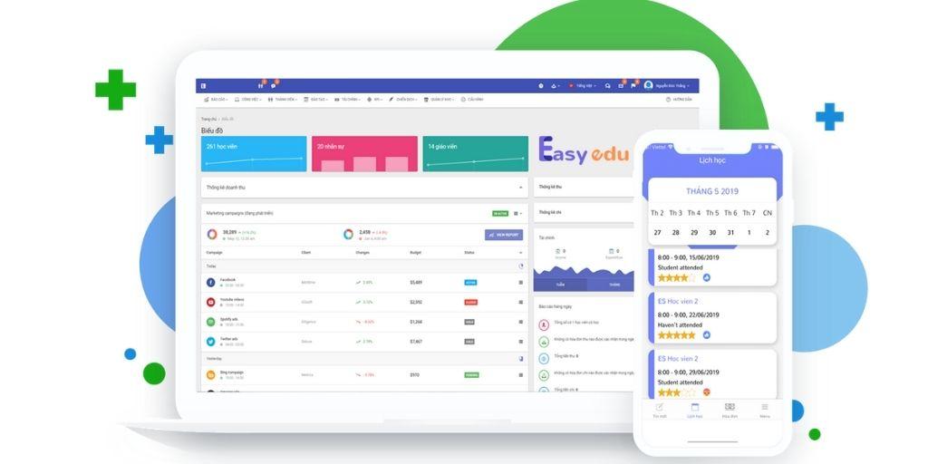 phần mềm quản lý giáo dục Easy Edu