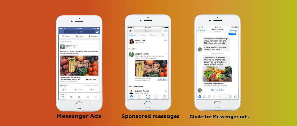 Quảng cáo trên Messenger