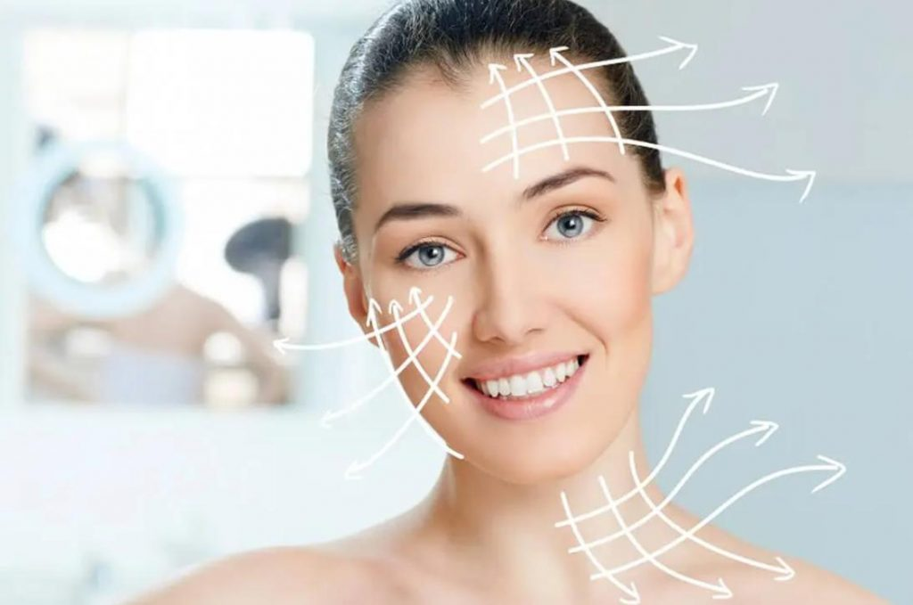 Nâng cơ mặt bằng công nghệ Ultherapy