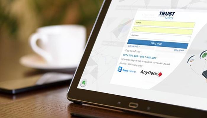 Phần mềm quản lý cửa hàng bán lẻ - TrustSales