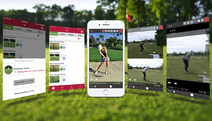 Công cụ theo dõi swing golf - V1 Golf