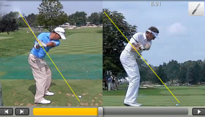 Phần mềm phân tích golf swing - Coach & Swing Analysis